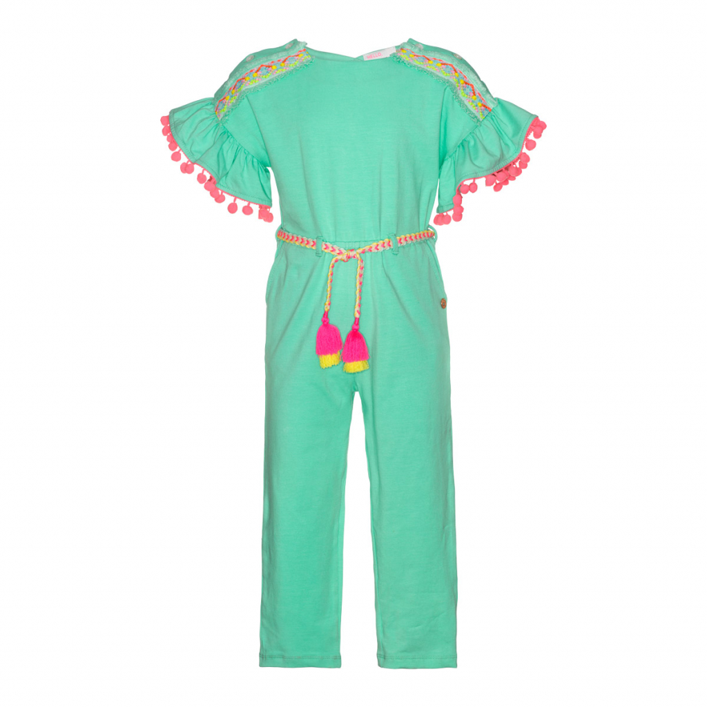 MiM-Pi Mint Jumpsuit with short sleeves