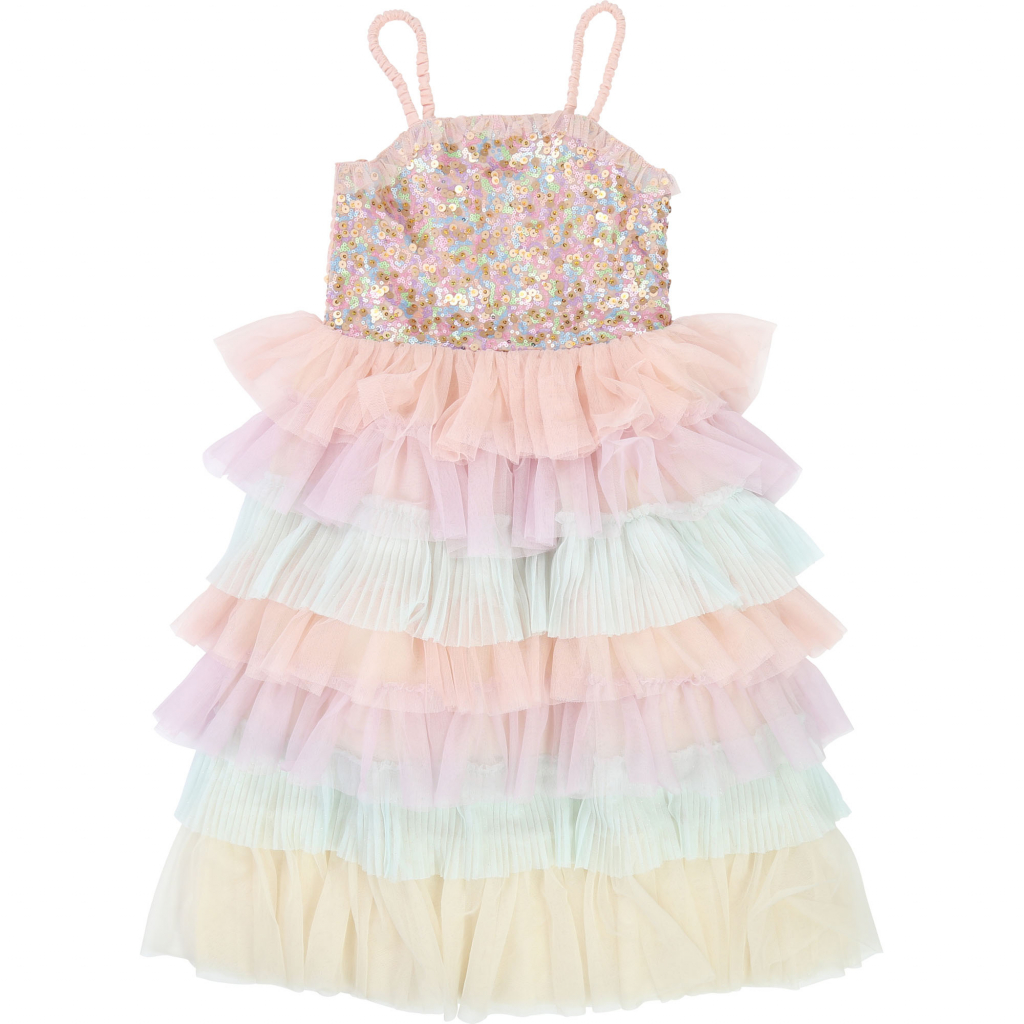BILLIEBLUSH Tulle Dress in Pastel Colors